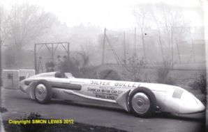 SUNBEAM SILVER BULLETT outside factory c.1930
